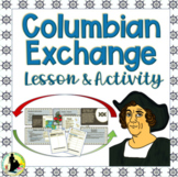 Columbian Exchange Instructional Task with Video and Map Sources