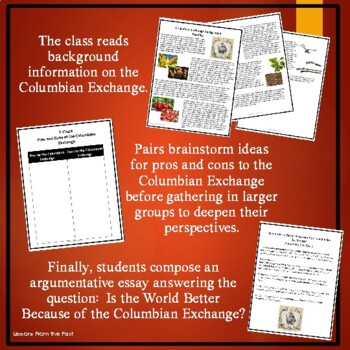 Columbian Exchange?  Is the World Better Because of the Columbian Exchange?