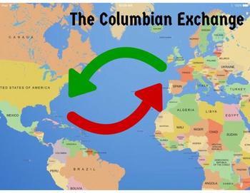 Columbian Exchange Map