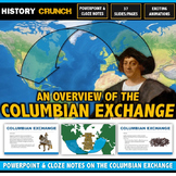 Columbian Exchange - PowerPoint with Cloze Notes (Plants,