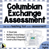Columbian Exchange Sources Task Christopher Columbus Asses