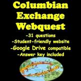 Columbian Exchange Webquest
