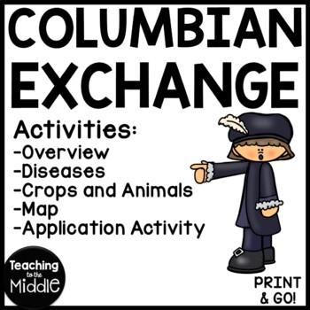 Columbian Exchange Reading Comprehension Worksheets ...