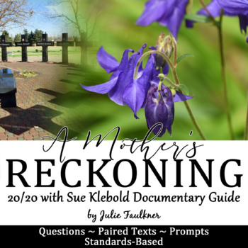 Columbine 20/20 Interview Documentary with Sue Klebold Viewing Guide, Sub Plan