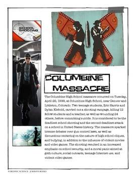 Forensics - Columbine High School Massacre w/key