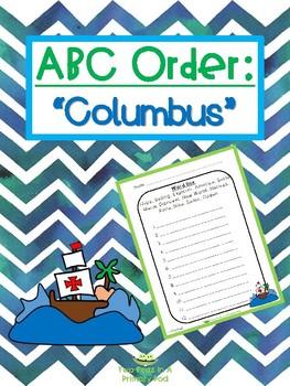 Columbus ABC order