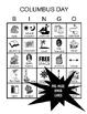 Columbus Day Vocabulary Bingo
