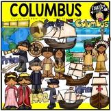 Columbus Clip Art Set {Educlips Clipart}
