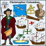 Columbus Clip Art by Dandy Doodles