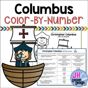 Columbus Color-By-Number