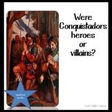 Explorers of Texas - Conquistadors - ELL or 4th Grade