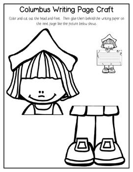 Columbus Craft Writing Page