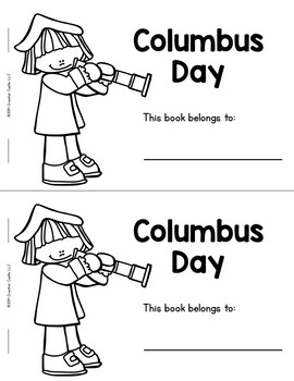 Columbus Day Guided Reading Book