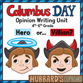 Christopher Columbus Day - Opinion Writing - Text Dependent - Text Evidence