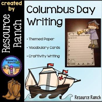 Columbus Day Writing Center