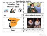 Columbus Day 2 Emergent Reader Booklets