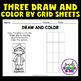 Christopher Columbus Day Activities (Draw and Color Worksheets)