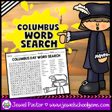 Christopher Columbus Day Activities (Christopher Columbus Day Word Search)