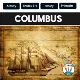 Christopher Columbus: Columbus Day Activities with Passage