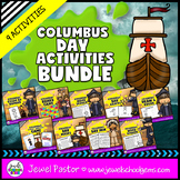 Christopher Columbus Activities BUNDLE (Columbus Games, Wo