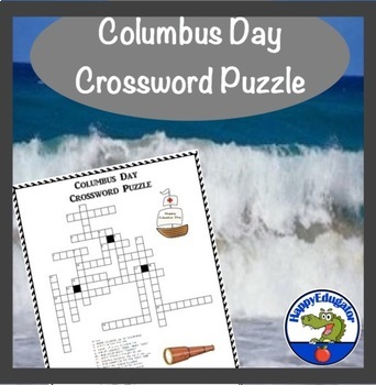 Columbus Day Crossword Puzzle