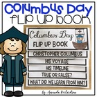 Columbus Day Flip Up Book