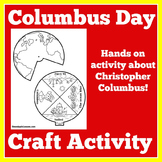 Columbus Day Craft   Columbus Day Activity   Christopher Columbus Activity