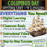 Columbus Day Writing BUNDLE! - Argumentative, Persuasive,