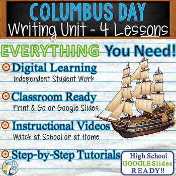 Columbus Day Writing BUNDLE! - Argumentative, Persuasive, Expository, Narrative