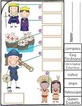 Columbus Day Worksheets