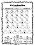 Columbus Day ABC Fill-in-the-blank FREEBIE