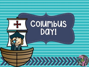 Columbus Day Activites
