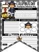 Christopher Columbus Activities Poster Teach- Go Pennants™ Columbus Day Writing