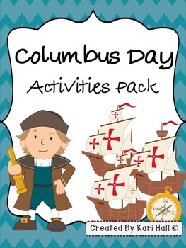Columbus Day Activities Pack!