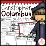 CHRISTOPHER COLUMBUS DAY ACTIVITIES PACK