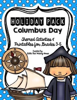 Columbus Day {Activities & Printables}