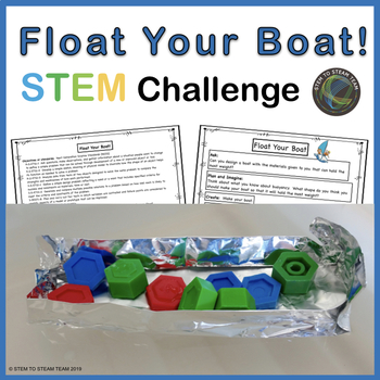 Bouyancy: Float Your Boat STEM Challenge for Columbus Day