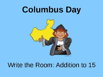 Columbus Day: Addition to 15
