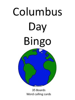 Columbus Day BINGO!