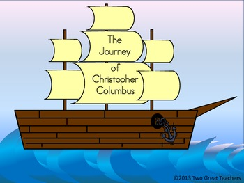 Columbus Day Booklet