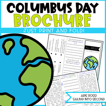 Columbus Day Brochure