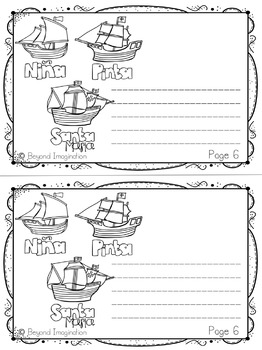 Columbus Day Booklet   44 Pages for Differentiated Learning + Bonus Pages