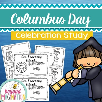 Columbus Day Booklet | 44 Pages for Differentiated Learnin