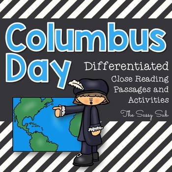 Columbus Day: Differentiated Close Reading Packet