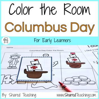 Columbus Day Color the Room