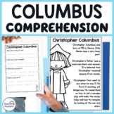 Christopher Columbus Day Reading Comprehension Passages and Questions
