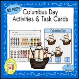 Columbus Day Clip Task Cards
