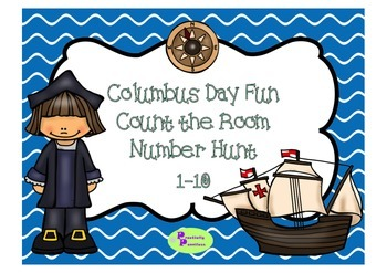 Columbus Day Count the Room 1-10