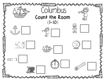 Columbus Day Count the Room