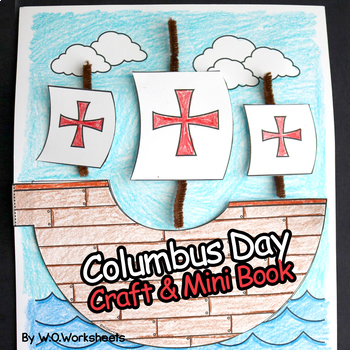 Columbus Day Craft and Book